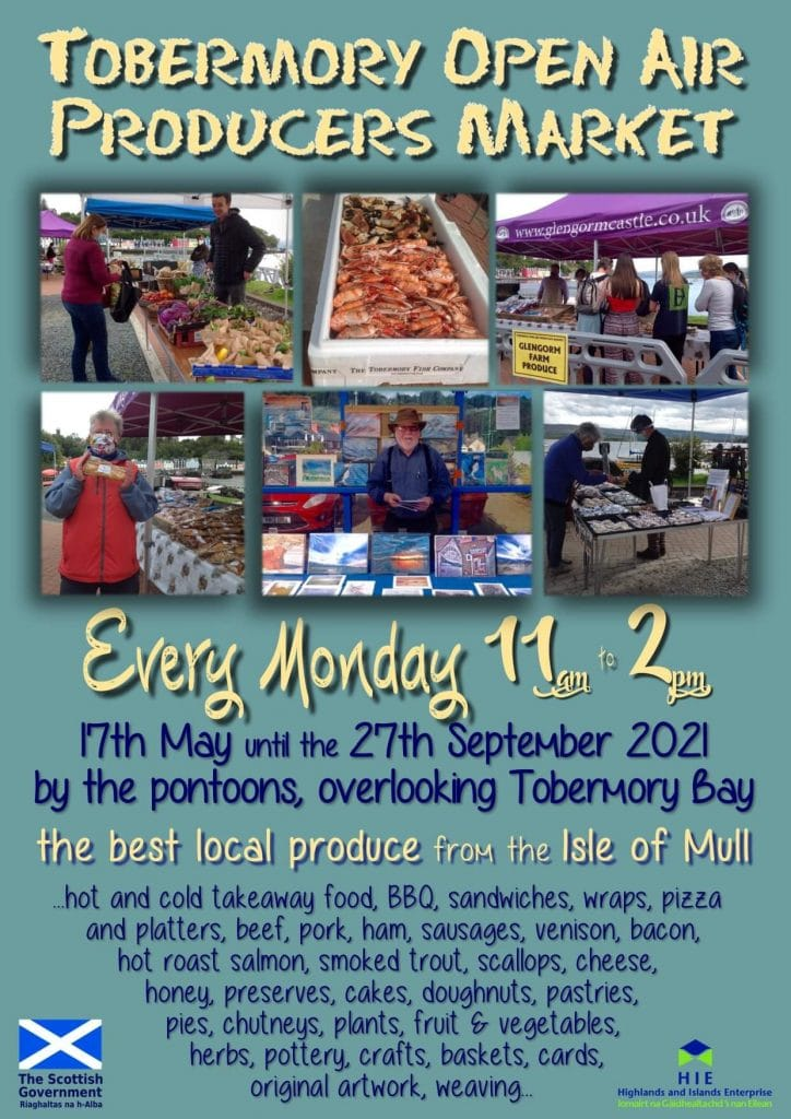 Tobermory Open Air Producers Market