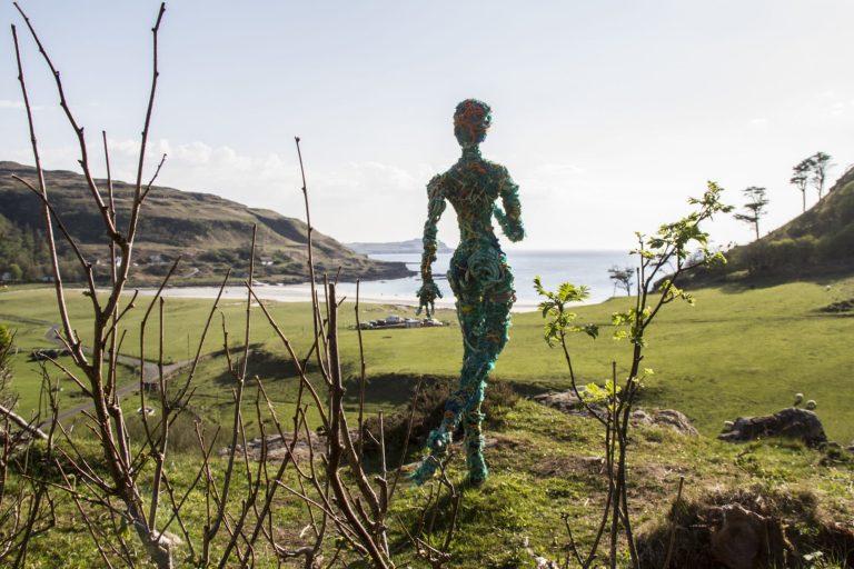 Artist Clare McNiven - Calgary Art in Nature