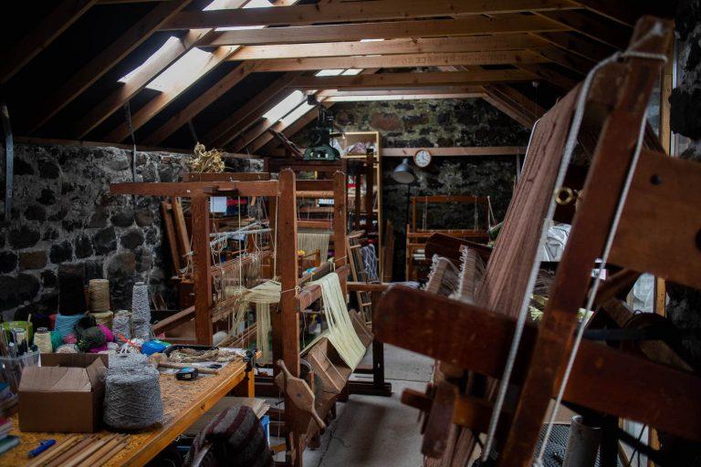 MONICA HADDOCK studio interior