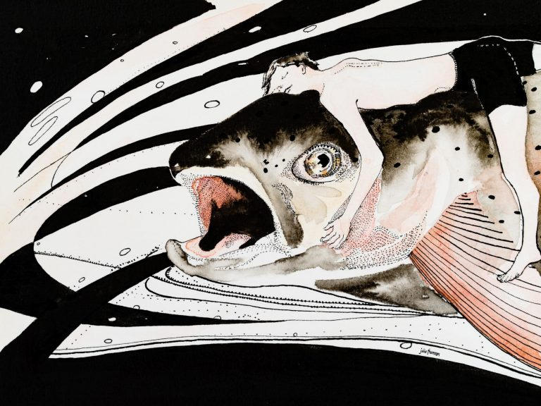 The Boy and The Fish - Julie Thomson