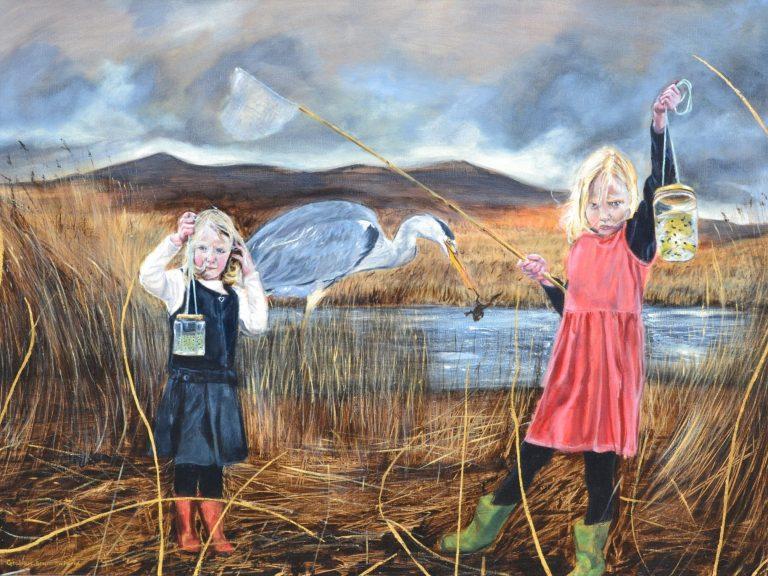 Childs play print - Graham Bruce Richards